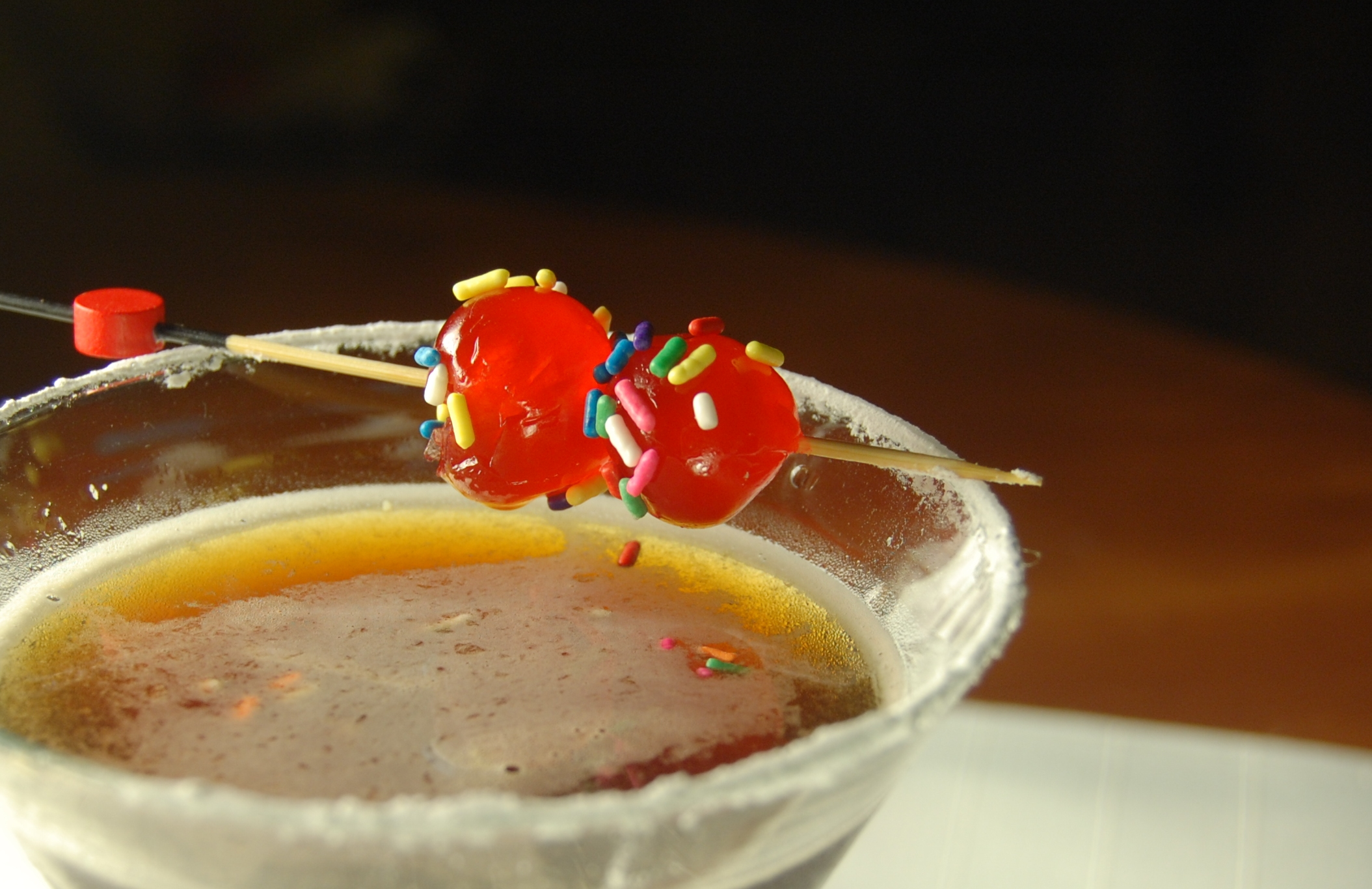The Birthday Cake Martini Five Oclock Cocktail Blog